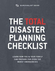 Total Disaster Planning Checklist Ebook