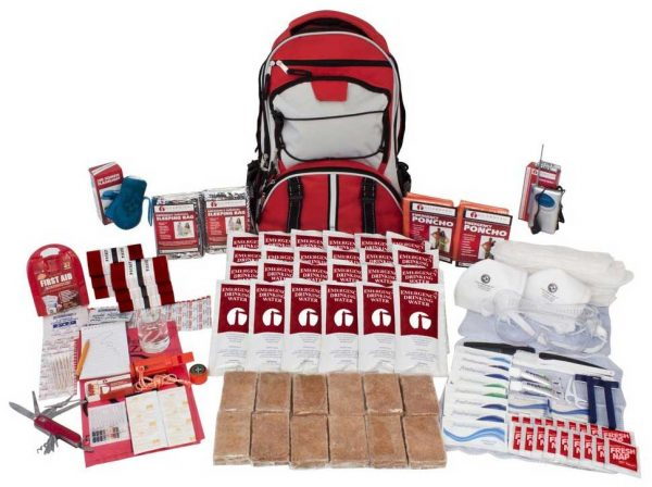 2 Person Deluxe Survival Kit 72 Hours