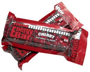 Millennium Energy Bars - 400 Calorie Cherry Food Bar