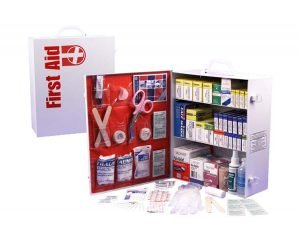 3-Shelf First Aid Cabinet